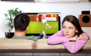 De strijd om de TV