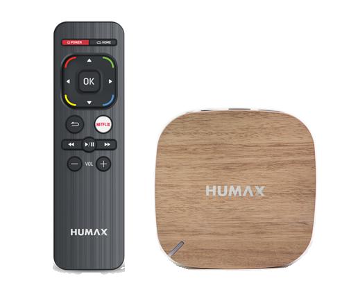 Humax H3 Netflix box