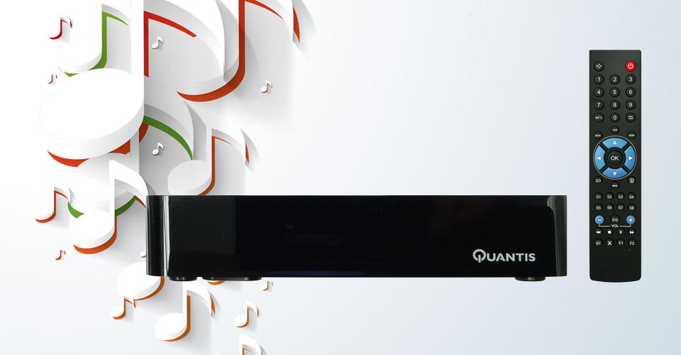 Quantis QE317 radiotuner